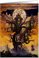 Haunted Tree House card