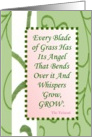 Talmud Quote Thank an Angel Friend card