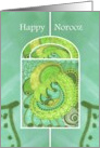 Happy Norooz Window of Springtime Splendor card
