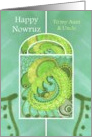 Happy Nowruz to Aunt & Uncle Springtime Splendor card