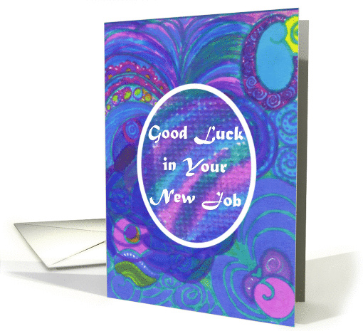 Good Luck in Your New Job Success With Flying Colors card (1074012)