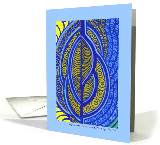 Aquarius Communication by Sri Devi card (834499)