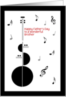 Happy Father's Day, Brother or customize relationship card
