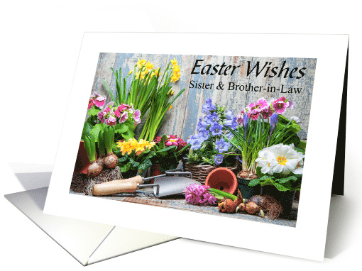 Spring planting brings Easter wishes for Sister and... (1515458)