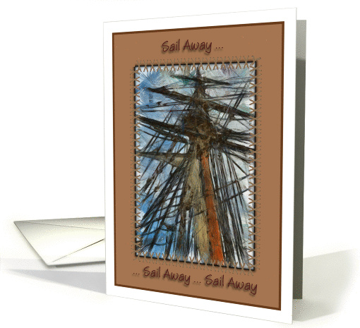 Sail away, sail away during prostate cancer card (889582)