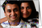Beautiful Music, That's What We Make Together - Save the Date Photo card