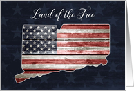 Connecticut Patriots' Day, Land of the Free card