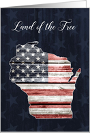 Wisconsin Patriots' Day, Land of the Free card