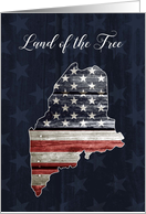 Maine Patriots' Day, Land of the Free card