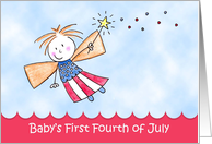 Baby's First Fourth of July, Fairy Card