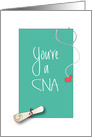 Graduation Congratulations to CNA, Diploma and Stethoscope card