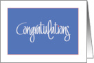 Business Congratulations with Handlettering and Orange Polka Dot card