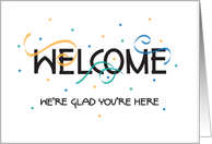 Welcome Cards For New Employees from Greeting Card Universe