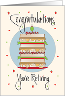 Retirement for Deli Sandwich Maker, Stacked BLT and Hearts card