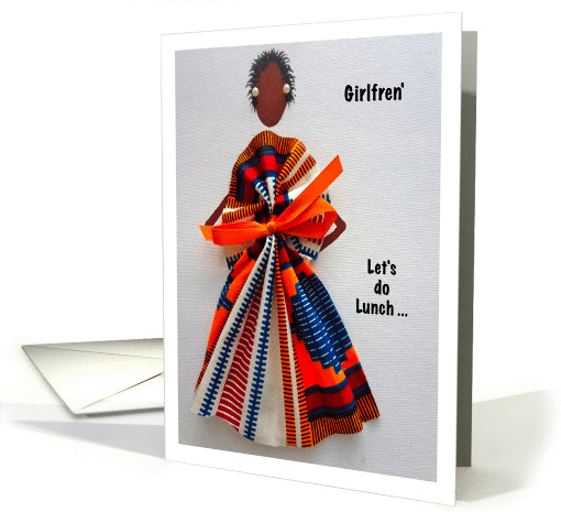 Afro-Centric, Lunch, invite card (945585)