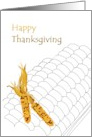 Thanksgiving from our house to yours, corn card