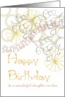 Birthday for Daughter-in-Law, Geometric Patterns card