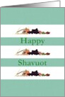 Happy Shavuot, First Fruits, Seven Species card