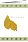 The Balady citron and the Seven species, Happy Sukkot card
