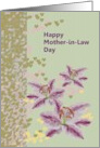 Mother-in-Law Day, Stargazers and Hearts card