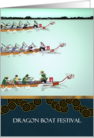 Chinese Dragon Boat Festival, dragon boat race card