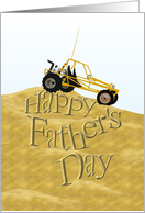 Father's Day, Dune buggy card