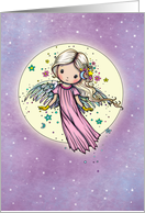 Thinking of You Sweet Angel in the Stars card