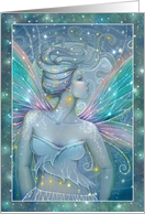 Ethereal Fairy Art by Molly Harrison Blank All Occasion Card