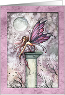 Thinking of You Card - Lovely Fairy card
