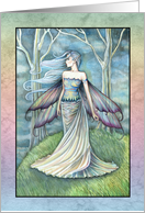 Thank You Card - Fairy Art by Molly Harrison card