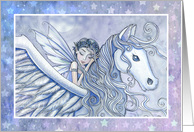 Thinking of You - Fairy and Pegasus card