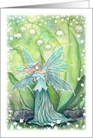 Lily of the Valley Fairy - Blank card