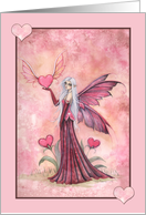 Thinking of You - Heart Fairy Card