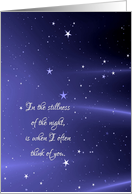 Thinking of You - Starry Night card