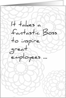 Boss's Day Humor From All of Us card