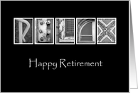 Retirement - Relax - Alphabet Art card