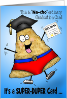 Graduation Nacho Man Silly Super-Duper Graduation Card