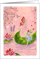 Thinking of You - Fairy Tale card