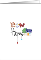 New Home - Congratulations on your new home card