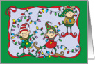 Santa's Little Helpers card
