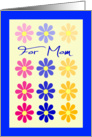 For Mom on Mother's Day card