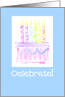 Celebrate Birthday Cake with Candles Card
