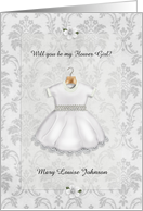 Will You Be My Flower Girl? Customizable card