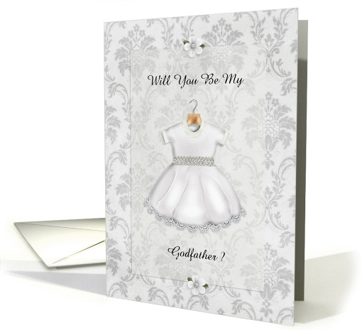 Christening Be My Godfather card (948598)