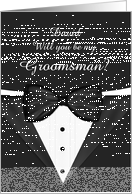 Will you be my Groomsman Customizable card