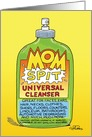 Mom Spit Cleaner Humor Mother's Day Card