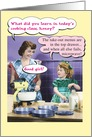 Retro Microwave & Take Out Funny Mother's Day Card