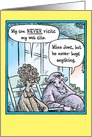 Son Never Visit Website Humor Mothers Day Card
