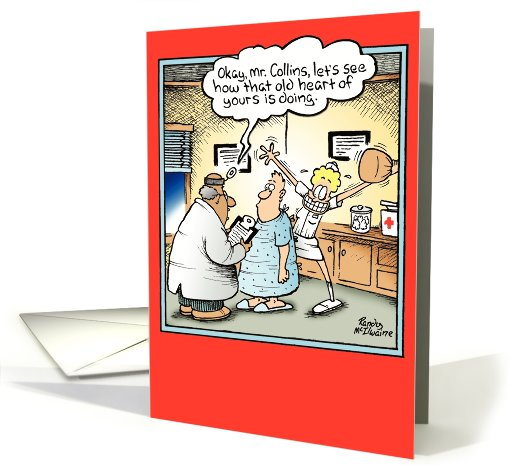 Old Heart Humor card (994603)