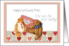 Teddy Bears Valentine for Husband, Personalize Scrapbook Layout card